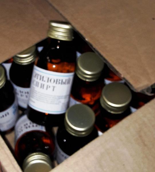 Полицейские вПрикамье продолжают находить сотни литров нелегального алкоголя